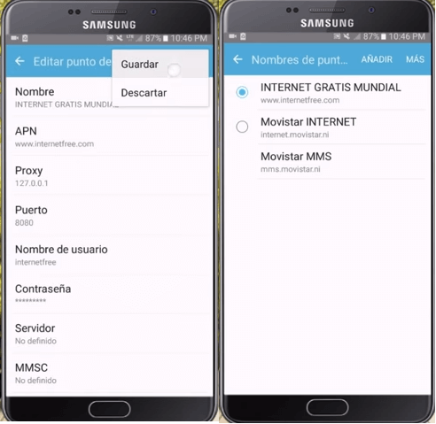 apn para rocket turbo vpn android gratis