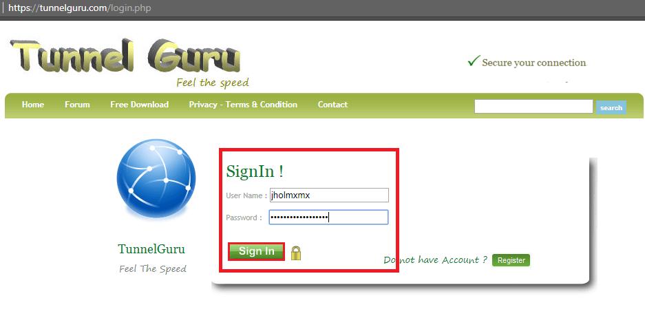 como crear cuenta free premium slowdns