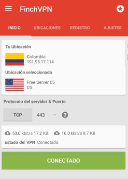 conectar finchvpn android apk gratis internet gratis