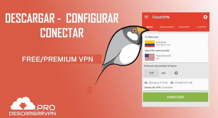configurar conectar y descargar finchvpn apk android