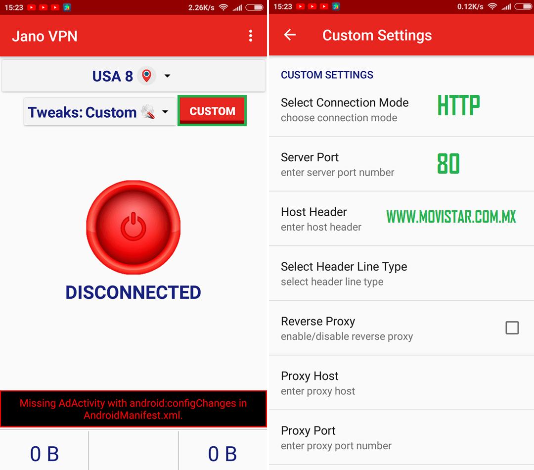 descargar jano vpn apk gratis android