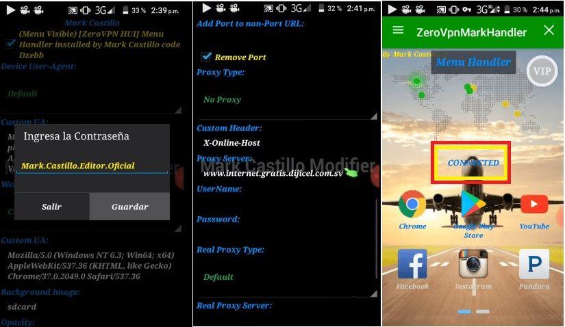 descargar zero vpn handler apk gratis android app mod