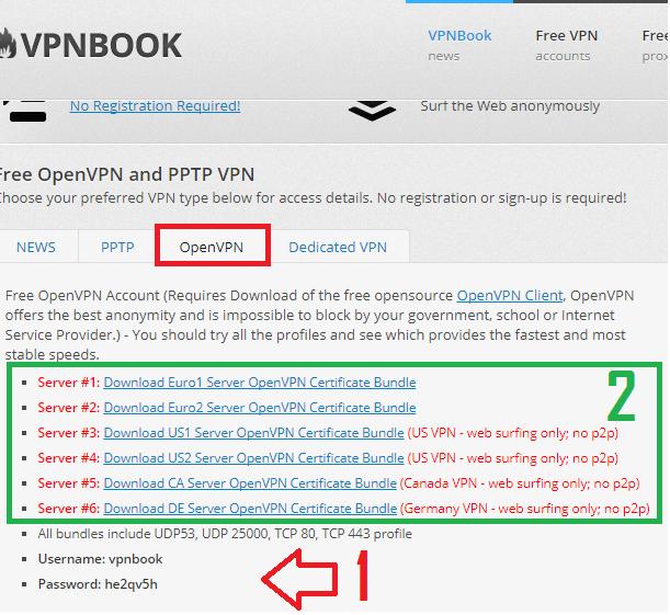 servidores e-vpro vpn gratis android